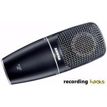 Shure Pg27 Usb Condenser Microfone Vocal