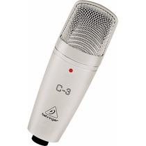 Microfone Condensador Behringer C-3- Original Com Garantia