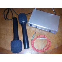 Microfones Sem Fio Profissional Wireless Auna Importado Hig