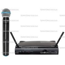 Microfone Sem Fio Lyco Uh01 É No Territorio Dos Djs
