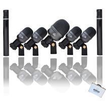 Kit De Microfones Para Bateria Arcano Arc-a7 Maleta Completo