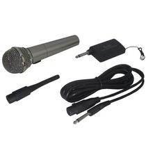 Microfone Sem Fio Para Festas Karaoke Amplificadores
