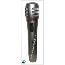Microfone Sem Fio Wireless Smart Hs-918 Com Estojo