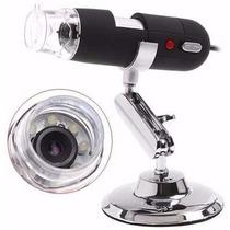 Microscópio Digital Zoom 500x 2.0 Mp Usb Eletronico Not Co87