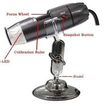 Microscópio Digital Usb 800x 2mp Com 8-leds Regulaveis