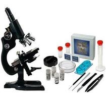 Microscópio Com Ampliação 300x 600x 1200x Vivmic2 Vivitar Nf