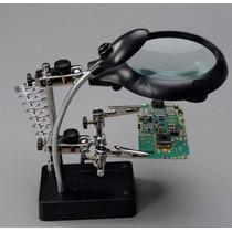 Lupa Para Manutenção Com Zoom Placa Celular Tablet Solda