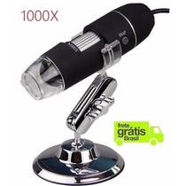 Microscópio Digital Usb 1000x Frete Grátis P/ Todo Brasil