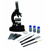 Kit Microscópio Vivitar Vivmic1 Zoom Até 900x + Acessórios