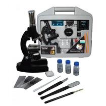 Kit Microscópio Vivitar Vivmic2 Ampliação Até 1200x + Maleta
