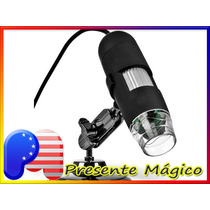 Microscópio Digital Usb 1000x 2.0 Mp 8 Leds - Pronta Entrega