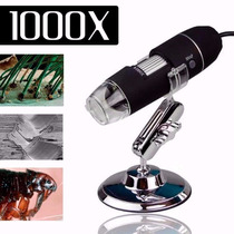Microscópio Digital Usb 1000x Hd Lupa Eletronicos Pc