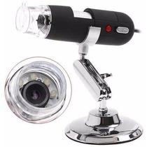 Microscópio Digital Usb Zoom 500x Câmera 2.0mp Pronta Entreg