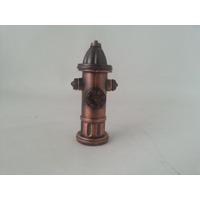 Apontador Estilo Hidrante Bronze Dos Bombeiros Peça Linda