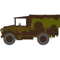 Truck Model - Oxford Diecast 1:76 Bedford Mwd 3rd