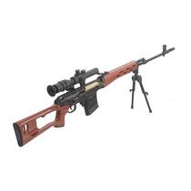 Miniaturas Die Cast 1:6 Armas-svd Dragunov Sniper - Airsoft.