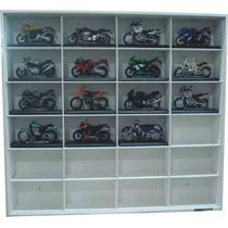 Estante Miniaturas Motos Harley Davidson E Sports Esc 1:18