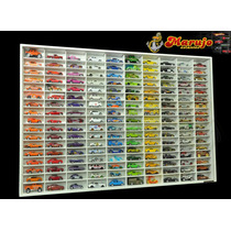 Estante Hotwheels 170 Nichos - Modelo Colectors Gran Luxo