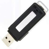 Gravador Voz Digital Mini Pen Drive Espiao 8gb Alta Sensib.