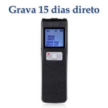Gravador De Voz Profissional Digital Detecção-voz Espião8gb