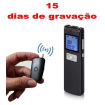 15 Dias Gravador De Voz Profissional Detecção-voz Espião 8gb