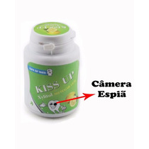 Micro Câmera Escondida Disfarçada De Pote De Balas