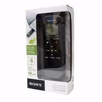 Gravador Voz Digital Sony Px440 Usb 4gb Com Slot De Expansão