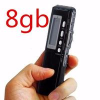 Gravador De Voz Digital Espião Escuta Chamada Telefônica 8gb