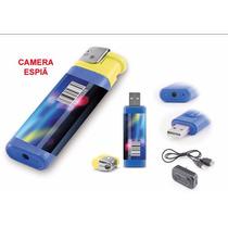 Micro Câmera Espião Disfarçado De Isqueiro Muito Discreto