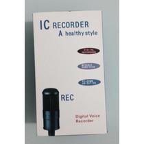 Gravador De Voz Digital 8 Gigas Profissional Equalizador