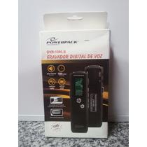 Gravador Digital Power Pack Dvr-1080.b Com Nfe E Garantia!!!