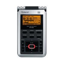 Gravador Digital Roland R-05 Cinza Com Entrada Cartão Sd E F