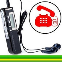 Gravador De Voz Digital Espião 8gb Grava Até 12 Dias Direto