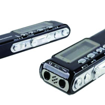 Mini Gravador De Voz Digital 8gb Grava Até 540 Horas, Aulas