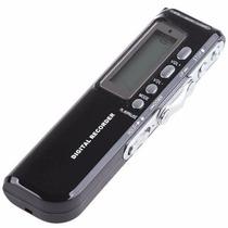 Gravador Digital De Voz Espião Grava Até 6 Dias Direto