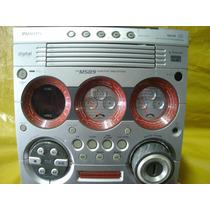 Micro-system Philips - Fw-m589 - C/ Defeito - Mineirinho-cps