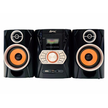 Micro Mini System Som Lenoxx Radio Fm Am Usb Cd Player Mp3