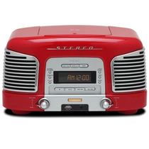 Rádio Retro Teac Sld-920 Vermelho Cd, Usb, Play/rec, Aux Si