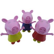 Mini Caixa De Som Peppa Pig Usb Mp3 Microsd Fm Pen Drive Pc