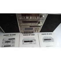 Micro System Aiko 3000 Completo Funcionando