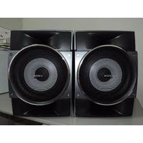 Caixa Acústica Sony Ss-gtr8 For Mhc-gtr8 Nova
