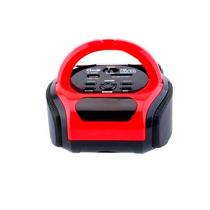 Caixa De Som Usb Sd Fm Portátil Pen Drive Recarregável Rádio