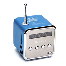 Caixa Toca Som Música Portátil Mp3 Rádio Fm Pendrive