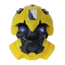 Caixa De Som Transformers Fm Sd Pen Drive Aux