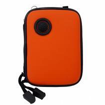 Bolsa Caixinha De Som Portátil P/celular Mp3 Mp4 Ipod Iphone