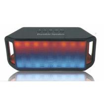 Caixa De Som Similar Jbl Pulse Portátil Bluetooth Led Beats