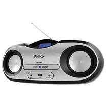 Radio Philco 15w Rms Cd Fm Mp3 Usb Sd Bluetooth Pb Bvolt