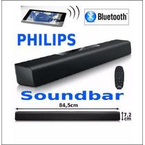 Caixa De Som Bluetooth Soundbar Philips 40w Htl2101x/78 Novo
