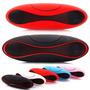 Caixa De Som Bluetooth Plasma Recarregável 20w Usb Sd Fone