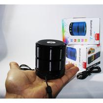 Caixa De Som Speaker Com Bluetooth Ipad, Iphone, Azul Ws887